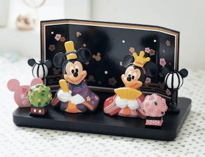 hina01 min - 桃の節句には、ディズニー雛人形を飾りたい!!