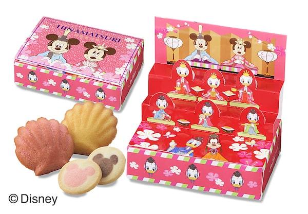 sub4 min - ディズニーデザイン「ひなまつり」限定スイーツギフトが銀座コージーコーナーさんから発売!!