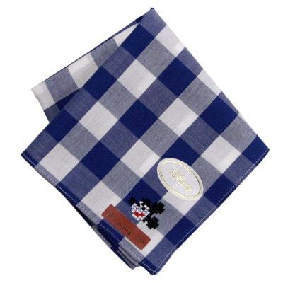 hanakati01 min - クロスステッチがかわいすぎる ディズニー・クロスステッチ刺繍入り先染めハンカチ