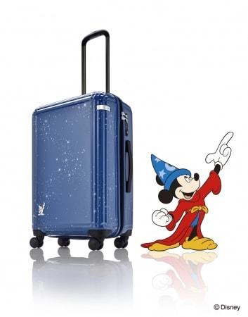 mickey case01 min - スーツケース1940本限定|ファンタジアミッキースーツケースが発売されました!!