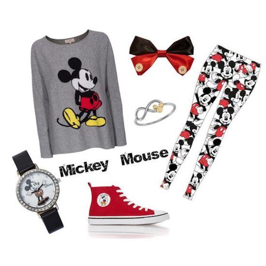mickey f06 min - ミッキーマウス コーディネート|スナイデル (snidel) の大人かわいいディズニーコレクション