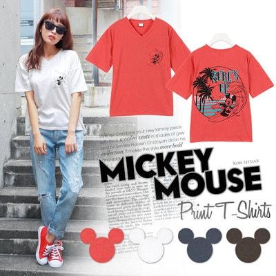 mickey t05 min - Tシャツを楽しむ 〜 ミッキー&ミニー Tシャツ25点 大集合!!