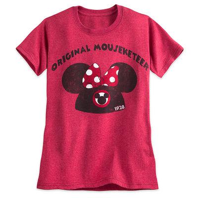 minnie t01 min - Tシャツを楽しむ 〜 ミッキー&ミニー Tシャツ25点 大集合!!