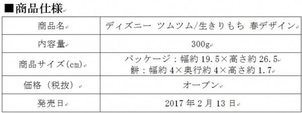 tsum mochi02 min - ディズニーツムツム 生きりもち|桜色の春デザインが登場します!!