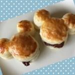 mickey pie01 1 - ミッキーのチョコパイ|美味しい 簡単 かわいいパイの作り方!!