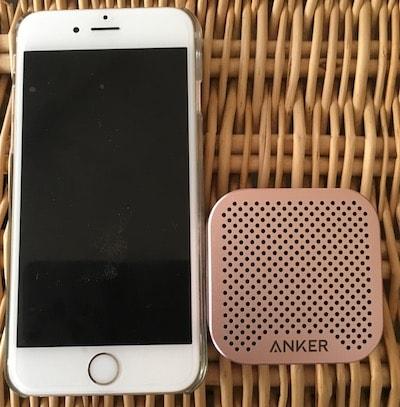 IMG 4247 min - Bluetoothスピーカー| Anker SoundCore nano 持ち運び式スピーカー レポ!