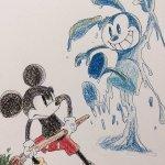 ira03 1 - ディズニーの手描きイラストがかわいすぎて才能を感じる 〜 才能がないと諦めている方へ