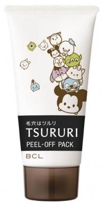 tururi02 min - ディズニー ツムツム限定デザインでスキンケア 〜 「ツルリ」の毛穴パックが登場!