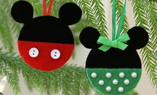 o10 min - ディズニー クリスマス 〜 オーナメントやリースを簡単にハンドメイドしてディズニーデコレーションに!!