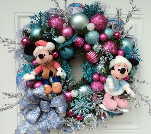 o14 min - ディズニー クリスマス 〜 オーナメントやリースを簡単にハンドメイドしてディズニーデコレーションに!!