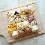 tigiri04 min - ディズニーでクリスマスの食卓を楽しみたい 〜 かわいいディズニーちぎりパン