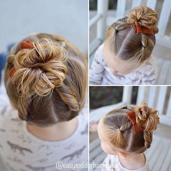 girl015 min - ママが簡単にできる「女の子のヘアスタイル」〜 ディズニー 発表会 結婚式 シチュエーション別の髪型をご紹介