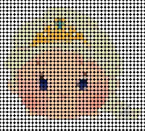 tsuzu06 min - ディズニーツムツム 図案14点 〜 アイロンビーズ アクアビーズの無料図案から作り方まで