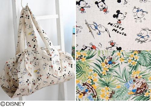 tokai03 min - 子供の甚平 浴衣が簡単にできる?!〜 ディズニーデザイン生地で作っちゃおう
