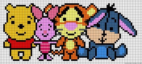 sikaku013 min - 【アイロンビーズ無料図案】四角いプレートを利用してディズニーキャラクターを作ろう!!〜フレンズからプリンセスまで【15点追加】
