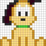 sikaku06 min - 【アイロンビーズ無料図案】四角いプレートを利用してディズニーキャラクターを作ろう!!〜フレンズからプリンセスまで【15点追加】