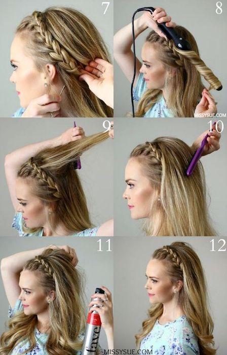 style04 min - 【編み込み攻略】プリンセスヘア、フォーマルヘアには欠かせないヘアアレンジ〜すぐにマスターできる方法とアレンジ例