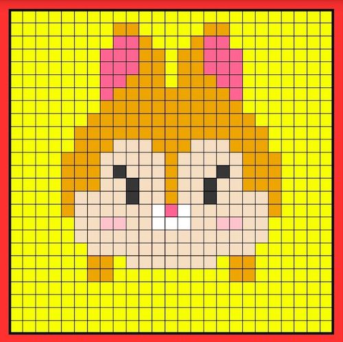tuika011 min - 【アイロンビーズ無料図案】四角いプレートを利用してディズニーキャラクターを作ろう!!〜フレンズからプリンセスまで【15点追加】