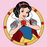 pri027 min - アイロンビーズ【プリンセス】無料図案〜並べて楽しみたい!!