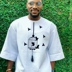 Tobi Bakre Steps Out In A Nice Outfit