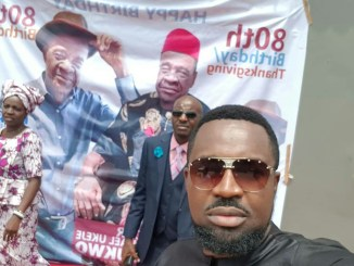 Rapper Mr Raw Celebrates His Father's 80th Birthday With Adorable Photos