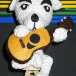 k.k. slider amigurumi with guitar