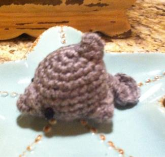 bella2five's dolphin amigurumi from my free pattern