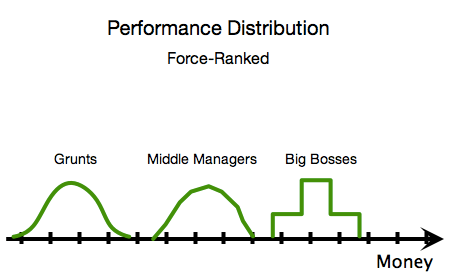 Performance Distribution - Force-Ranked