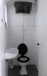 Pull to refresh toilet