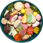 Assorted candies