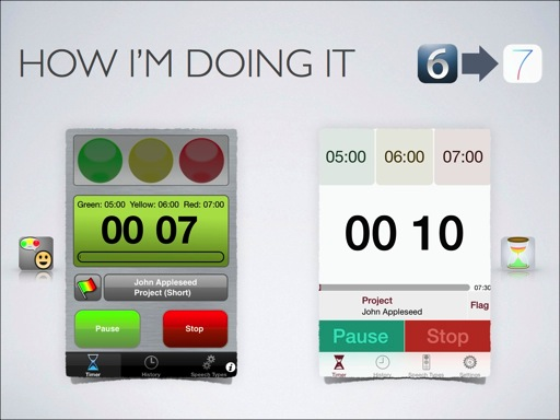 Speech timer ios 7