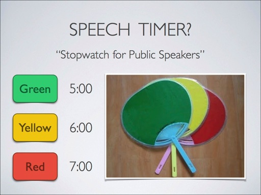 Stopwatch for Public Speakers