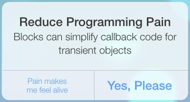 reduce programming pain