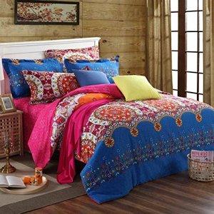 Bohemian and Ethnic Bedding Set