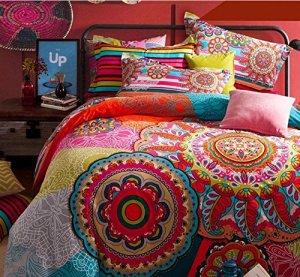 colorful-bohemian-style-bedding-set