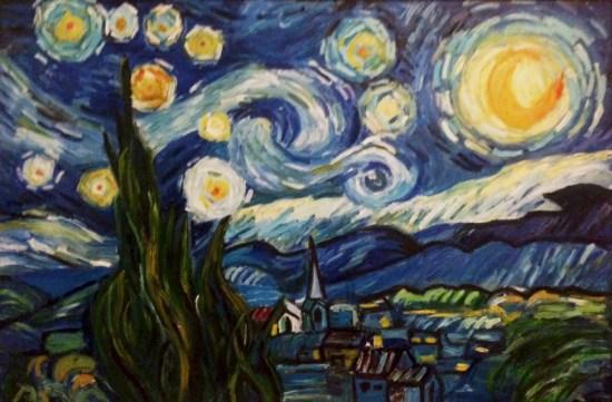 starry night replica by maryam nasim