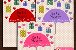 Cute Free Printable Bridal Shower Invitation