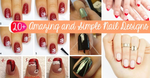 20 Amazing And Simple Nail Designs You Can Easily Do At Home 1 Splatter Paint Nails