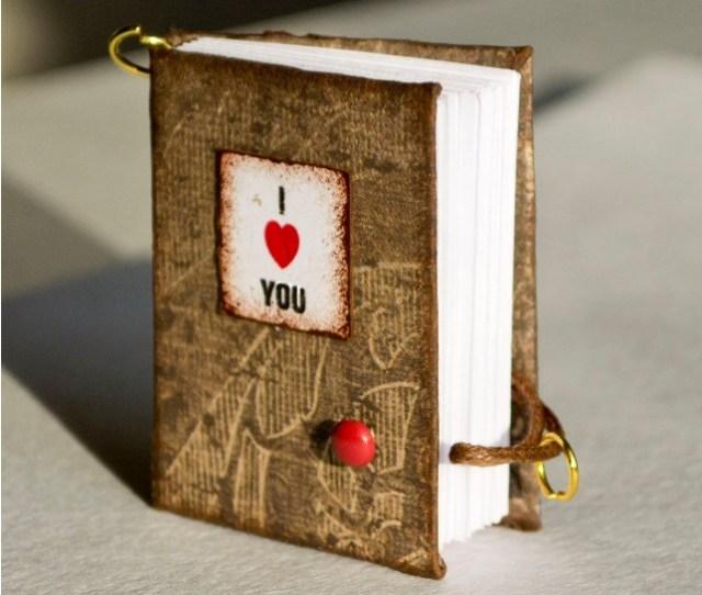 Miniature Valentines Notebooks