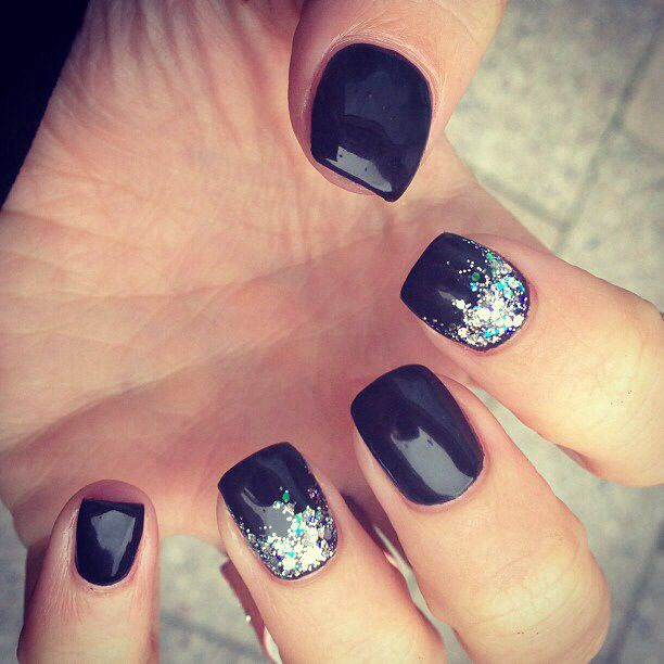 Glitter Acrylic Nail Designs Pictures Fat Fingernails Versus