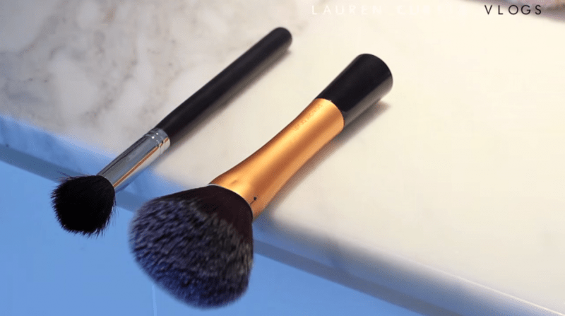 Image result for brush drying off end of counter