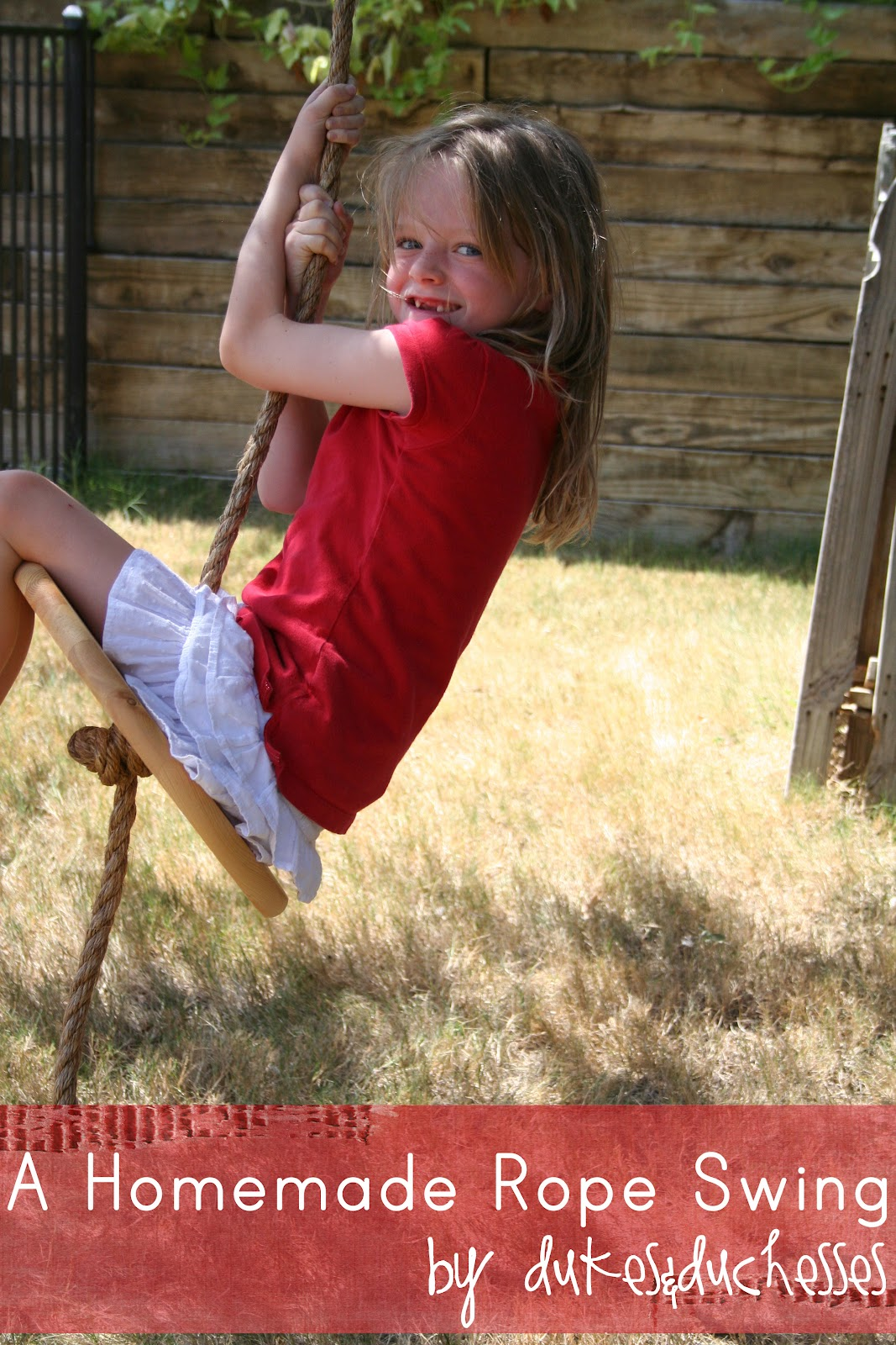 Take Your Kids By Surprise With This Rope Swing