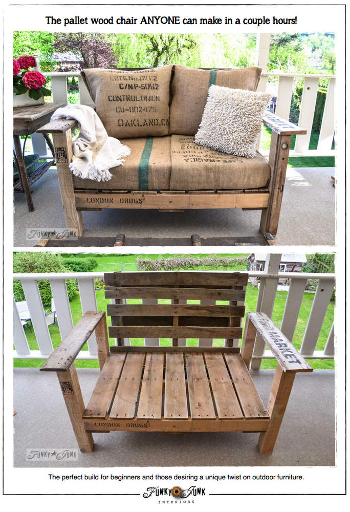 20 diy pallet patio furniture tutorials