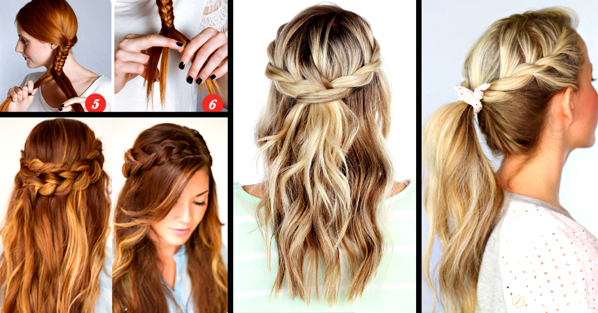 30  Cute and Easy Braid Tutorials That Are Perfect For Any Occasion     30  Cute and Easy Braid Tutorials That Are Perfect For Any Occasion     Cute  DIY Projects