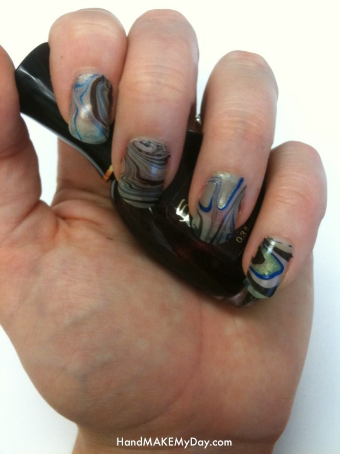Water Marbling As Always When Doing Your Nails It Is Best To Do In A Well Ventilated Area And Use Some Paper Towels Or An Old Towel Protect The