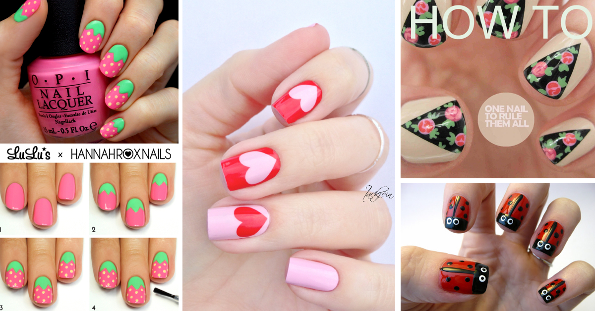50 Cute Cool Simple And Easy Nail Art Design Ideas For 2017