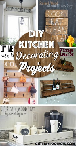 The 35 Best DIY Kitchen Decorating Projects     Cute DIY Projects 35 Best DIY Kitchen Decorating Projects