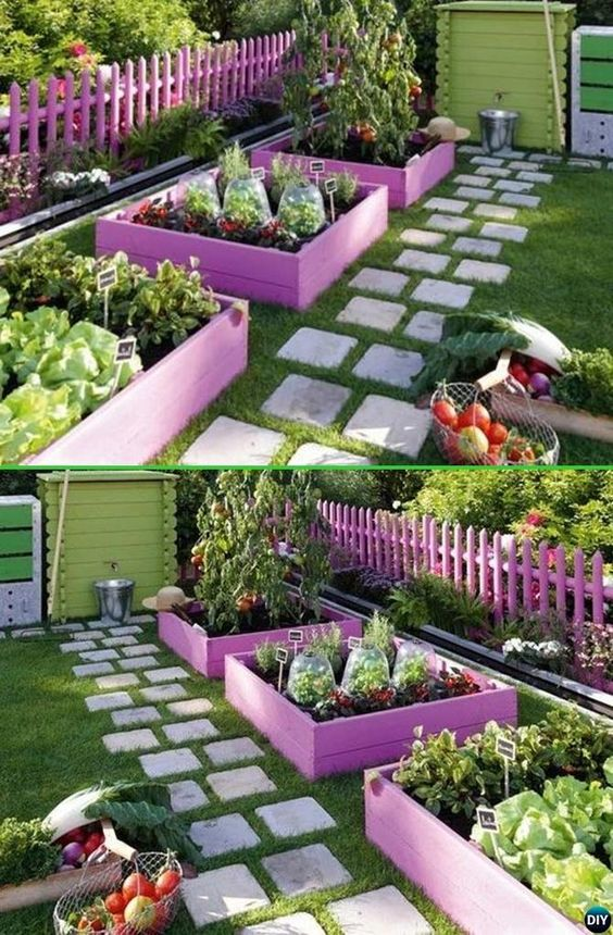 Garden Bed Blocks
