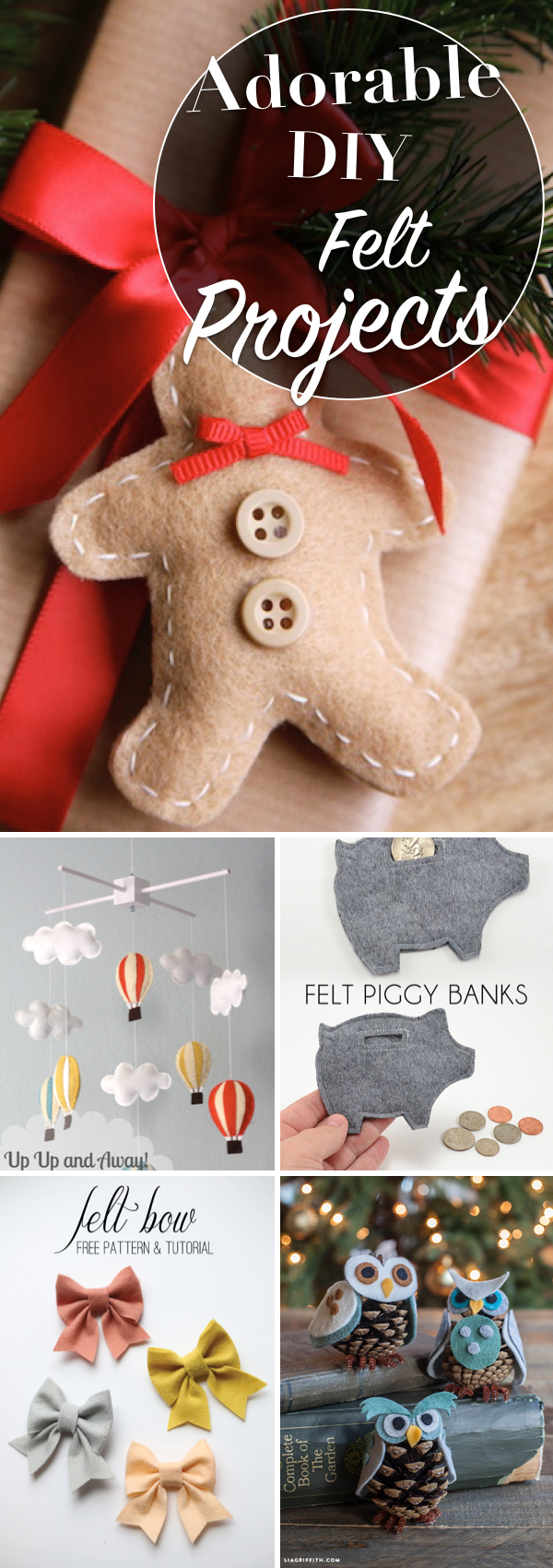 Adorable DIY Felt Projects