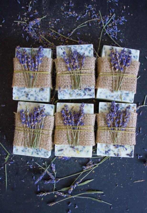 Lavender Honey Lemon Soap